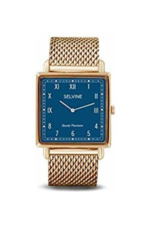 Selvine Womens Analogue Quartz Watch with Stainless Steel Strap SOLY3