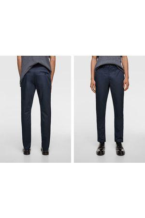 Zara Men Chinos - Slim chino trousers