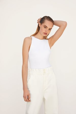 Zara Halter neck bodysuit