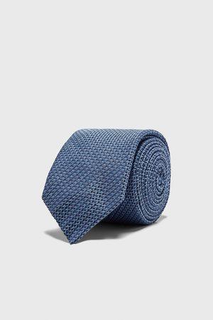 Zara Men Ties - Wide textured tie