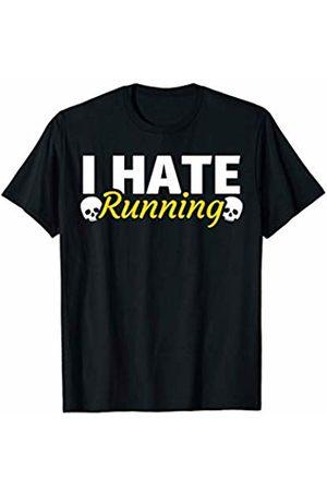 Anti Running NOVELTY T-SHIRTS Anti Running Funny Sayings Humor