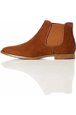 FIND Suede-Look Chelsea Boots, Tan