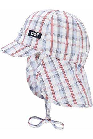 Döll Baby Boys' Bindemütze Mit Schirm Und Nackenschutz Sun Hat, (Total Eclipse|