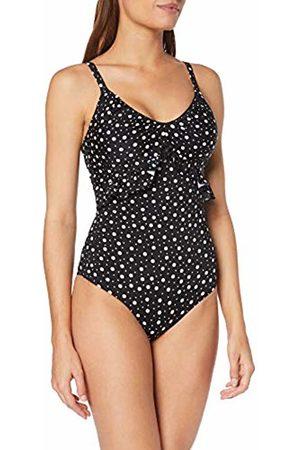 Pour Moi Women's Mini Maxi Frill Control Suit Swimsuit