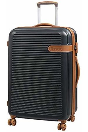 IT Luggage Valiant 8 Wheel Hard Shell Single Expander Medium With Tsa Lock Suitcase, 71 cm