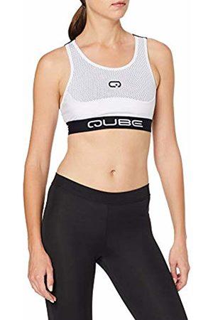Qube Womens Sports Bra Endurance Bra M-Back Gym Training Sports Bra (Extra Small (Chest 77-82cm))