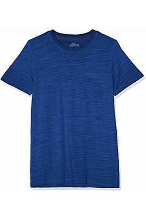 s.Oliver Men's 03.899.32.4584 T-Shirt, Tile 5639