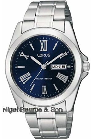 Lorus Men Watches - Mens Analogue Classic Quartz Watch with Stainless Steel Strap RJ637AX9