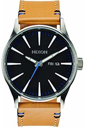 Nixon Men's Analogue Quartz Watch with Leather Strap A105-1602-00