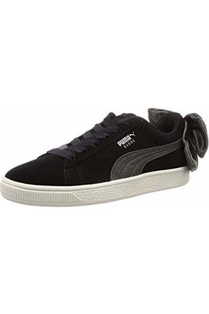 PUMA Women's Suede Bow Hexamesh WN's Low-Top Sneakers, -Dark Shadow