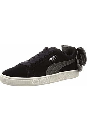 Puma Women's's Suede Bow Hexamesh WN's Low-Top Sneakers -Dark Shadow