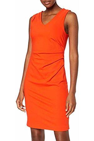 Selected Femme Women's Slfeva Louise Sl Dress B, Cherry Tomato