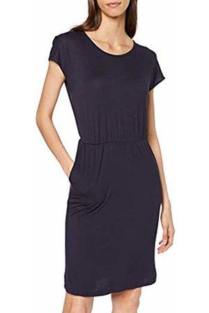 Only Women's Onlbali S/s Deep Back Dress JRS, Night Sky