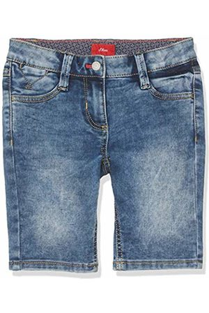 s.Oliver Girl's 73.906.72.8964 Bermudas, ( Denim Stretch 56z3)