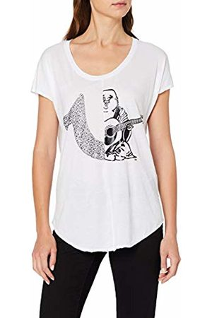 True Religion Women's T Shirt 2 Logo 1700