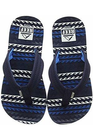 Reef Boys' Little Ahi Flip Flops, (Water Wab)
