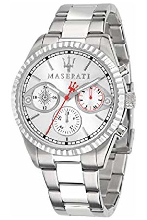 Maserati Mens Chronograph Quartz Watch with Stainless Steel Strap R8853100017