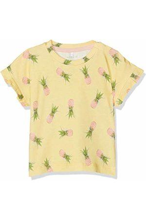 Name it Baby Girls' Nbfjenna Ss Top T-Shirt, Popcorn