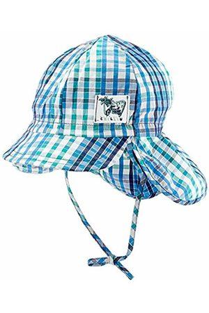 Döll Baby Boys' Bindemütze Mit Schirm Und Nackenschutz Sun Hat, (Mediterranian