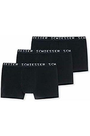 Schiesser Men's 95/5 Hip-Shorts (3er Pack) Boxer ( 000)