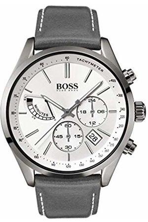 HUGO BOSS Mens Chronograph Quartz Watch with Leather Strap 1513633