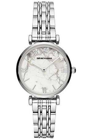 Emporio Armani Womens Analogue Quartz Watch with Stainless Steel Strap AR11170