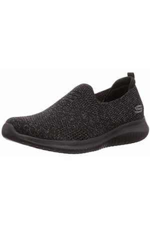 Skechers Women's Ultra Flex-Harmonious Slip On Trainers, ( BBK)