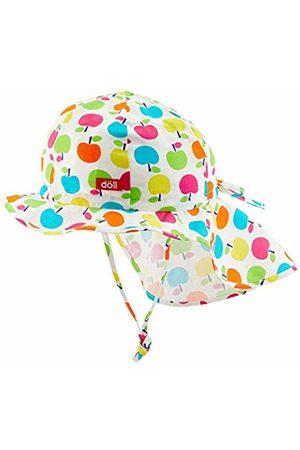 Döll Girl's Sonnenhut Mit Nackenschutz Hat, Beetroot | 2420