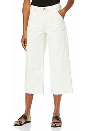 New Look Women's Contrast Stitch Wide 6185446 Flared Jeans