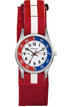 Reflex Unisex Child Analogue Classic Quartz Watch with Textile Strap REFK0002