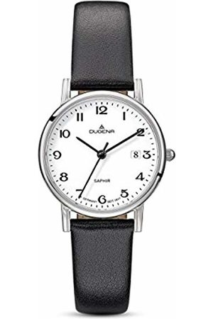DUGENA Women Watches - Women's Analogue Quartz Watch with Leather Strap 4460728