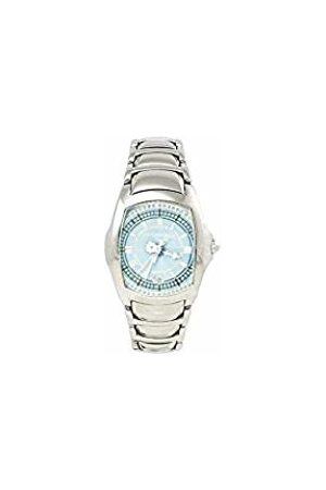 ChronoTech Womens Analogue Quartz Watch with Stainless Steel Strap CT7896L-91M