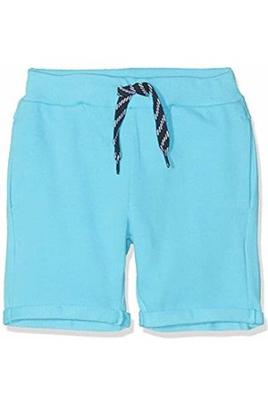 Name it Boy's Nmmvasse SWE Long Shorts Unb J, Turquoise Bachelor Button