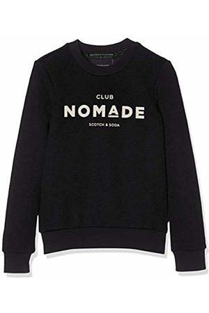 Scotch&Soda R´Belle Girl's Club Nomade Basic Crew Neck Sweat Sweatshirt, (( 04)