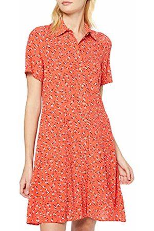 New Look Women's Ec Loretta Ditsy Sslv Swing S (6248287) Dress