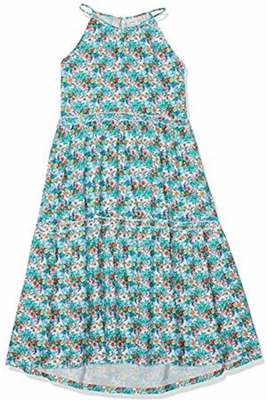 Name it Girl's Nkfjessamine Sl Maxi Dress Bright