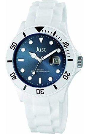 Just Watches Men's Watch XL Analogue Quartz Silicone 48 S3927/BK