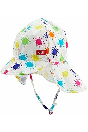 Döll Girl's Bindemütze Mit Schirm Und Nackenschutz Cap, (Beetroot |