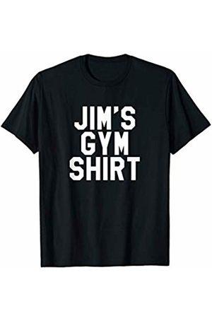 Mens Workout Gifts & T-Shirts Jim's Gym Shirt - Mens Weightlifting Workout T-Shirt
