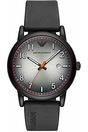 Emporio Armani Mens Analogue Quartz Watch with Rubber Strap AR11176