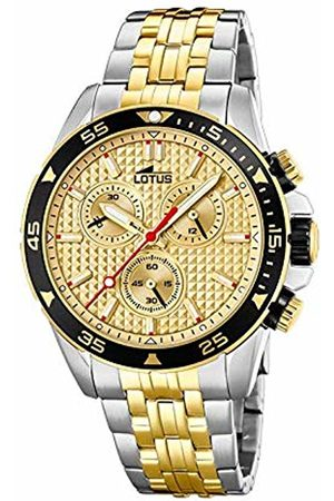 Lotus Mens Chronograph Quartz Watch with Stainless Steel Strap 18651/1
