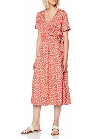 SPARKZ COPENHAGEN Women's VIVETTE WRAP Dress (Sunset 545)