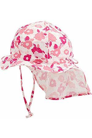 Döll Girl's Sonnenhut Mit Nackenschutz Hat, (Beetroot |