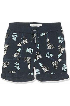Name it Boys Shorts - Boy's Nmmmickey Thorn Unb SWE Shorts Wdi, Dark Sapphire