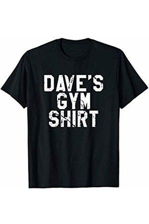 Mens Workout Gifts & T-Shirts Dave's Gym Shirt - Mens Workout T-Shirt