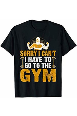 Must Love Fitness To The Gym | Fitness Weightlifting Deadlift Workout Gym T-Shirt