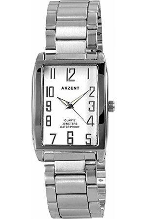 Akzent 88247 Wrist Watch Metal Band –