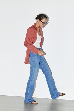 Zara Zw premium skinny flare jeans