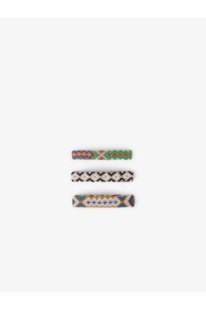 Zara Pack of 3 braided thread bracelets