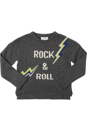 ZADIG&VOLTAIRE Arrow Intarsia Wool Blend Knit Sweater